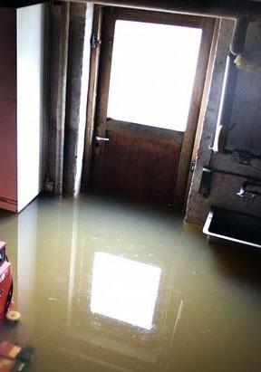 Oversvømmet kælder